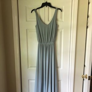 Bridesmaid dress - light blue
